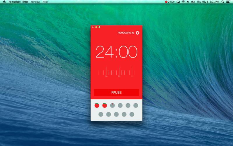 Pomodoro app on mac